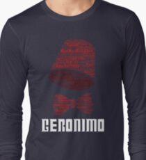 Geronimo - 11th Doctor's Quote - Doctor Who Long Sleeve T-Shirt