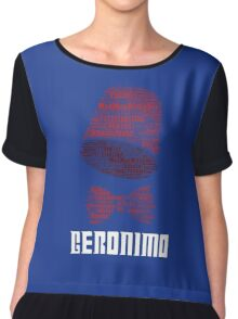 Geronimo - 11th Doctor's Quote - Doctor Who Chiffon Top