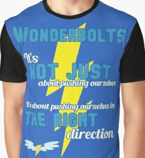 Being a Wonderbolt quote - Spitfire (MLP) Graphic T-Shirt