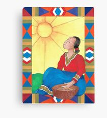 Weaver II Canvas Print