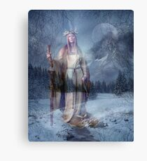 WINTER WATCH Canvas Print