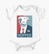 Feel The Hopper (Red White and Hopper) Kids Clothes