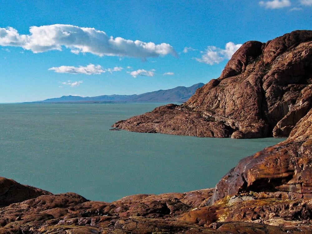 Lago Viedma- Patagonia by David Chesluk