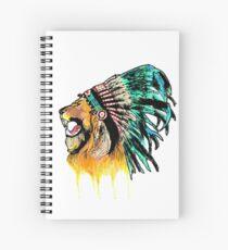 Lion Warrior Spiral Notebook