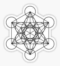 Metatron's Cube Sacred Geometry Sticker