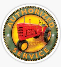 Massey Harris vintage tractors Sticker