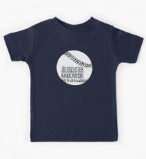 Babe Ruth and his nicknames Kids Tee