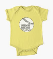 Babe Ruth and his nicknames Kids Clothes
