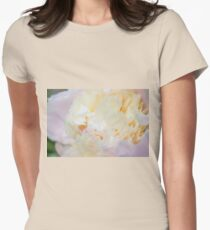 Lush Peony Womens Fitted T-Shirt