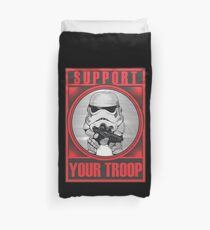 support your troop Duvet Cover