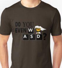 Steam PC Master Race Geek Do You Even WASD? T-Shirt