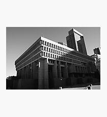 Brutalist Boston Photographic Print