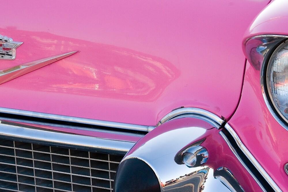 pink caddy by David Chesluk
