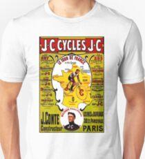 """""""TOUR DE FRANCE"""" Vintage Bicycle Racing Print Unisex T-Shirt"""