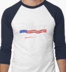 Hillary for Prison 4 Men's Baseball ¾ T-Shirt