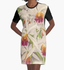 Orchid Graphic T-Shirt Dress
