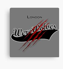 London Werewolves Canvas Print