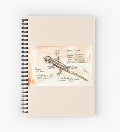 African Striped Skink - Not so easy! Spiral Notebook