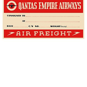 Quantas Empire Airways by ebbandflo