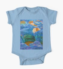 Abstract beautiful rock pools One Piece - Short Sleeve