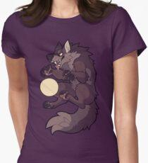 Camiseta entallada para mujer Garra en la luna
