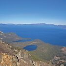 View of Lake Tahoe From Mount Tallac by Jared Manninen