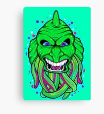 Lagoon Creature Canvas Print