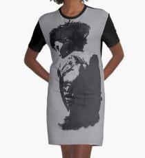 Lisbeth Salander – Dragon Tattoo Graphic T-Shirt Dress
