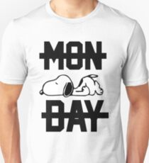 Snoopy Lazy Monday Unisex T-Shirt