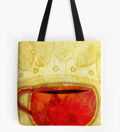 What my Coffee says to me -  August 12, 2012 Tote Bag