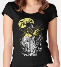 The warriors. Furies baseball player! Women's Fitted Scoop T-Shirt