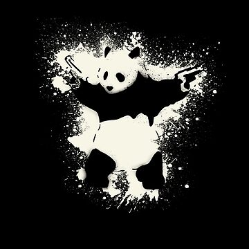 Bansky Panda by Markmaw