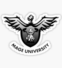 Mage University Sticker