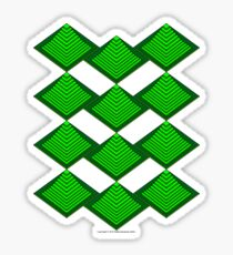 Ziggurat Glyph 02 Sticker