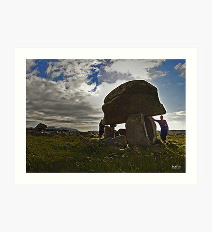 Kilclooney Dolmen, County Donegal Art Print