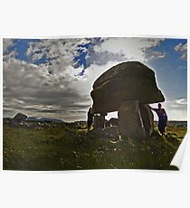 Kilclooney Dolmen, County Donegal Poster