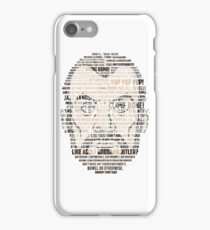 Krieger Quotes (Archer) iPhone Case/Skin