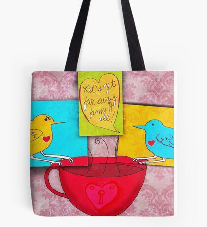 What my Coffee says to me -  July 27, 2012 Tote Bag