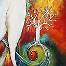 The Resilience Tree - Detail 2 by Faith Magdalene Austin