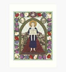 Dorothy Day Icon Art Print