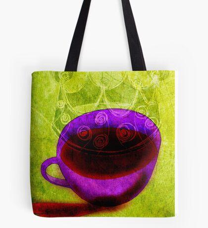 What my Coffee says to me -  November 10, 2012 Tote Bag