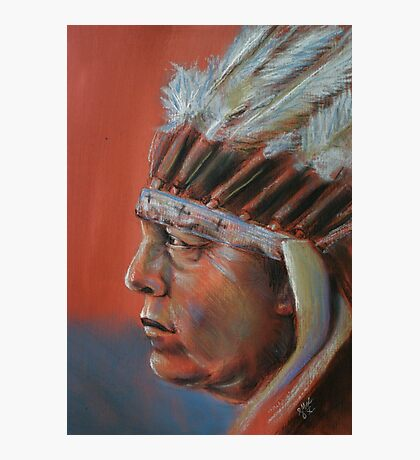 The Chief Photographic Print