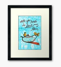 What my Tea says to me January 4th, 2013 Framed Print