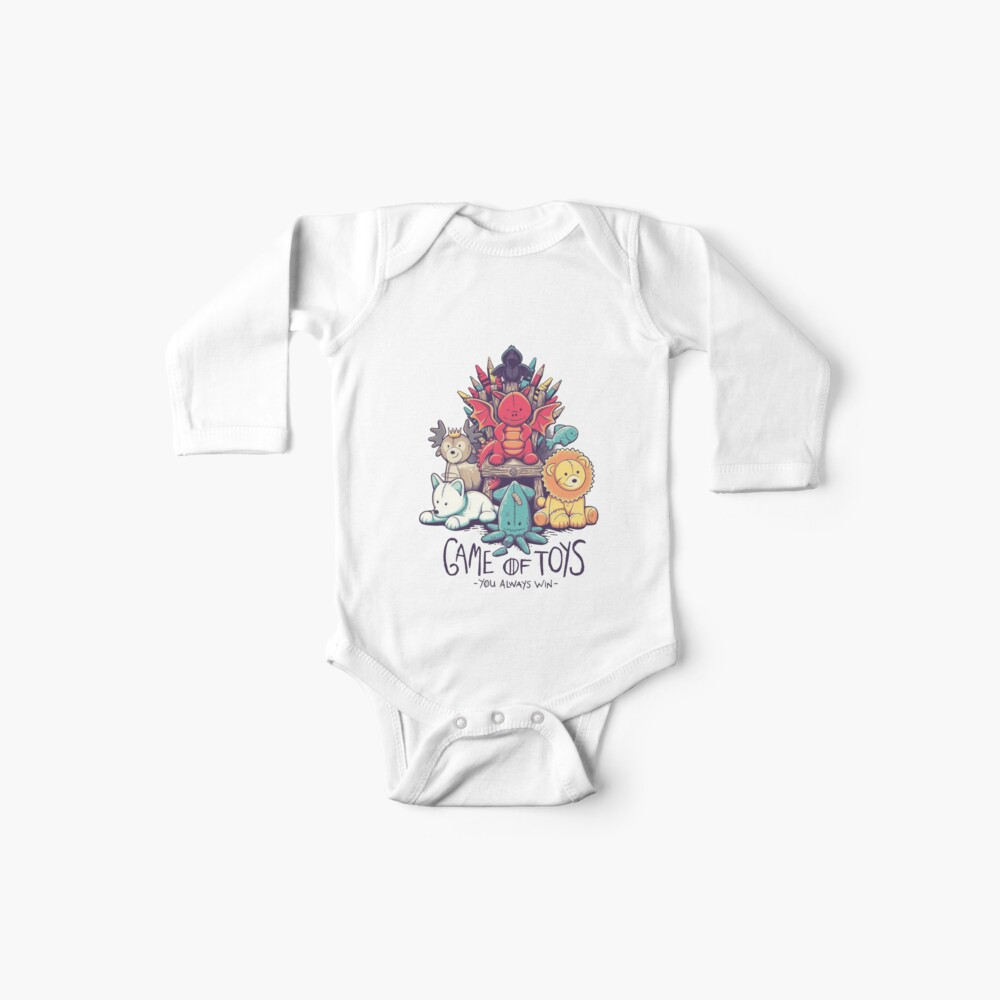 Game of Toys Baby One-Pieces