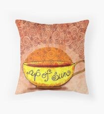 What my #Coffee says to me January 4, 2013 Throw Pillow