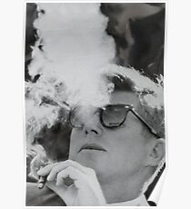 JFK Smoking Poster