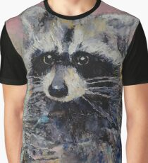 Raccoon Graphic T-Shirt