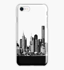 melbourne skyline iPhone Case/Skin