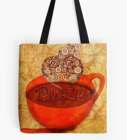 CHRISTMAS - What my #Coffee says to me Tote Bag