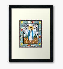 St. Kateri Tekakwitha Icon Framed Print
